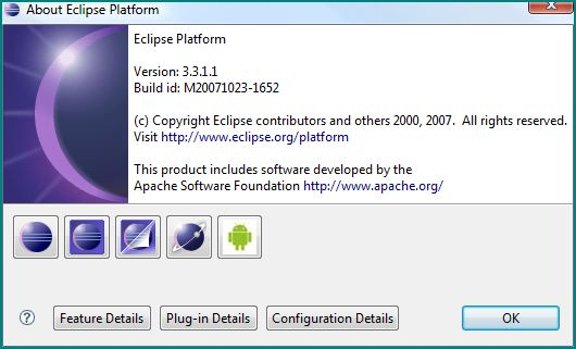 Figure 1. About Eclipse Platform