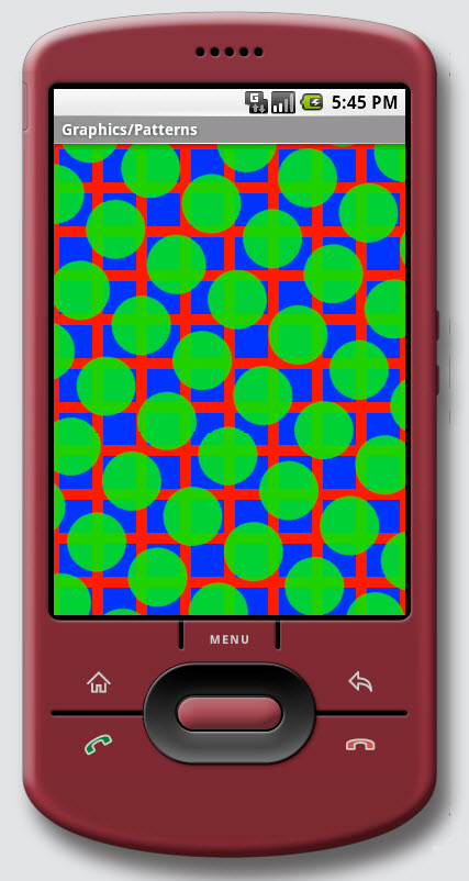 Figure 13. Graphics / Patterns on Android