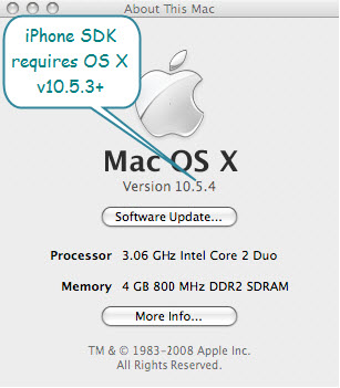 Figure 4. The Mac Details (About This Mac)