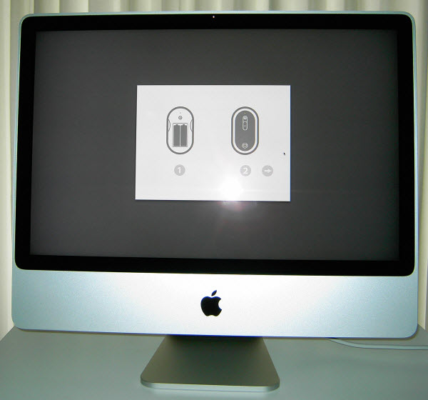 how to connect apple mouse to imac