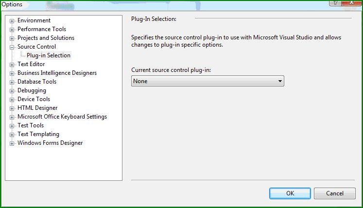 Open Project without SourceSafe